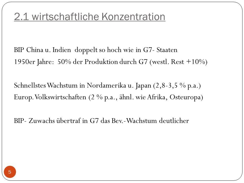 2.1 wirtschaftliche Konzentration