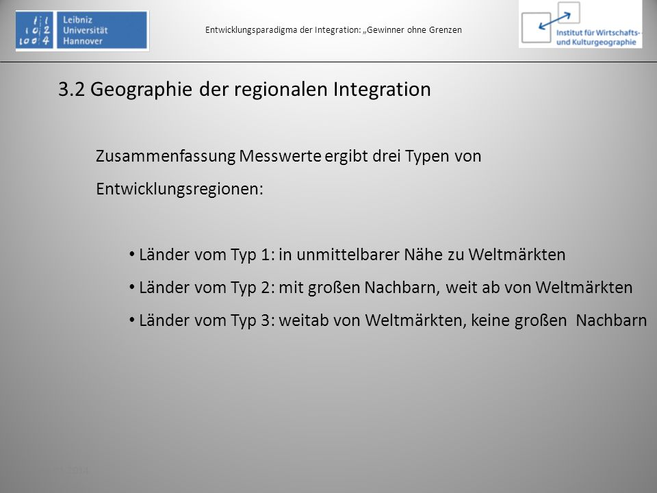 """Entwicklungsparadigma der Integration: """"Gewinner ohne Grenzen"""