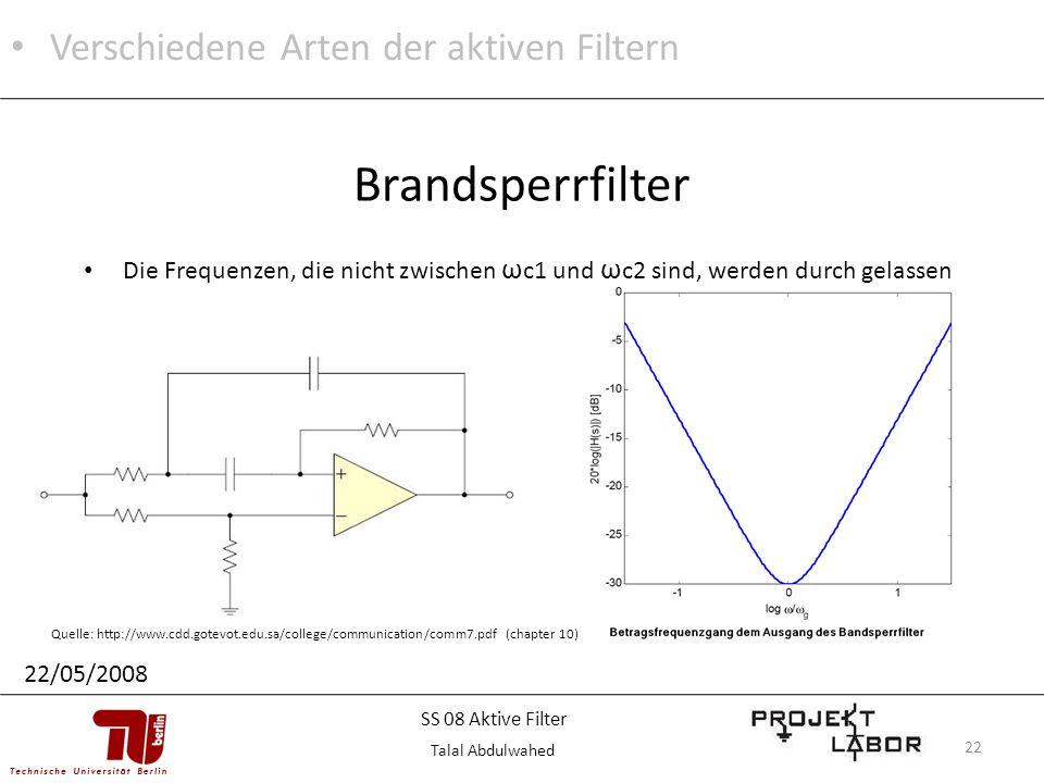 Brandsperrfilter Verschiedene Arten der aktiven Filtern