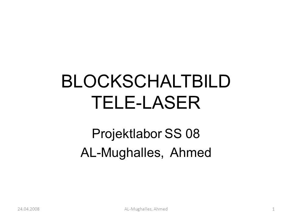 BLOCKSCHALTBILD TELE-LASER