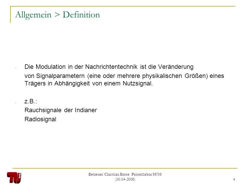 Allgemein > Definition