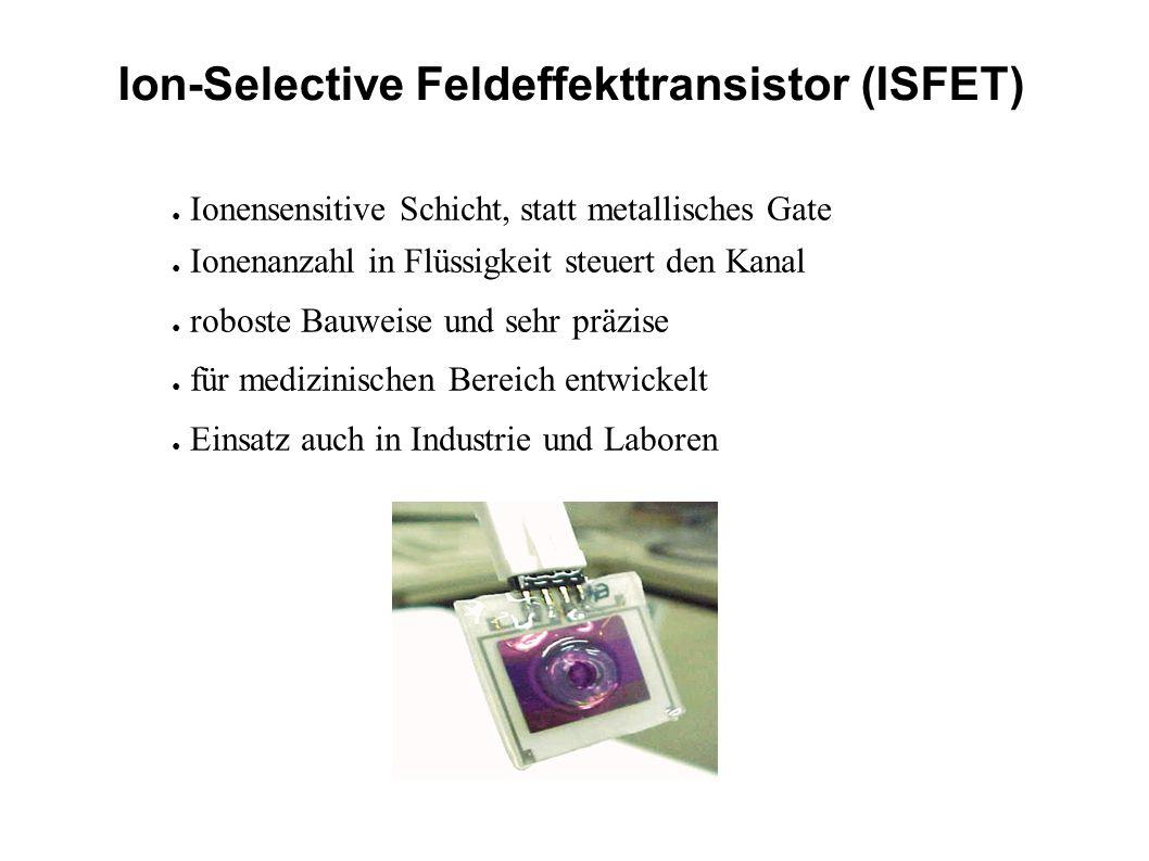 Ion-Selective Feldeffekttransistor (ISFET)