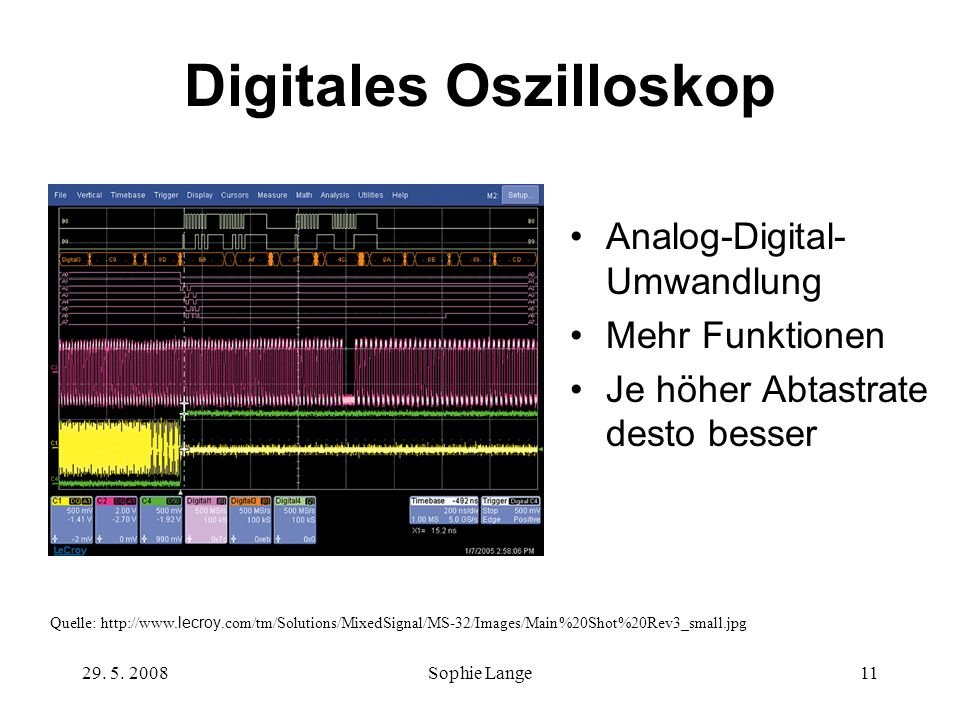 Digitales Oszilloskop