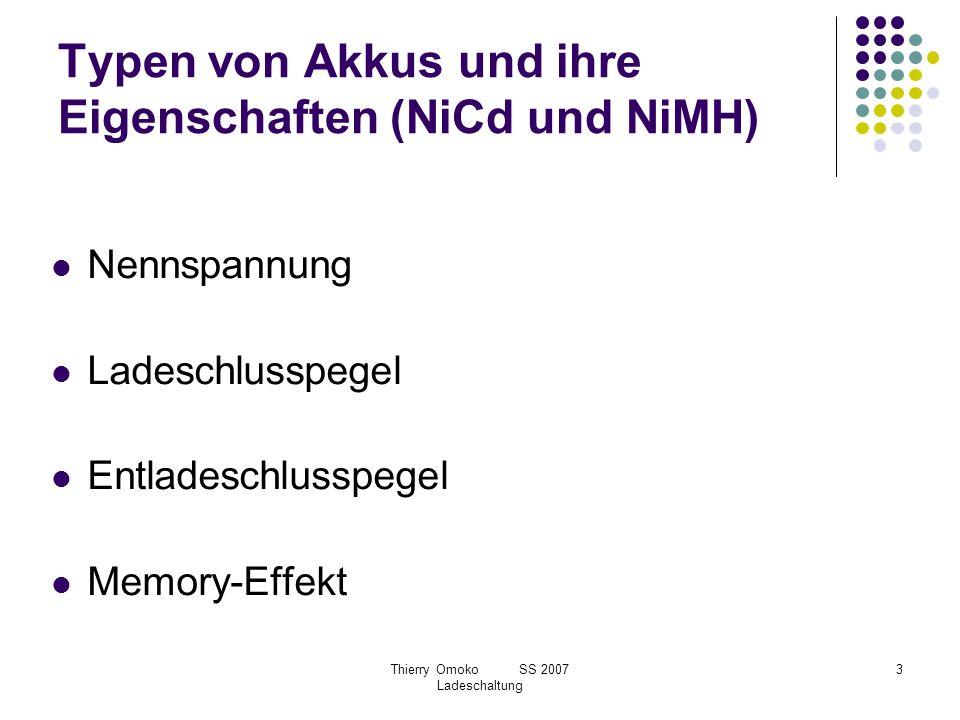 Typen von Akkus und ihre Eigenschaften (NiCd und NiMH)