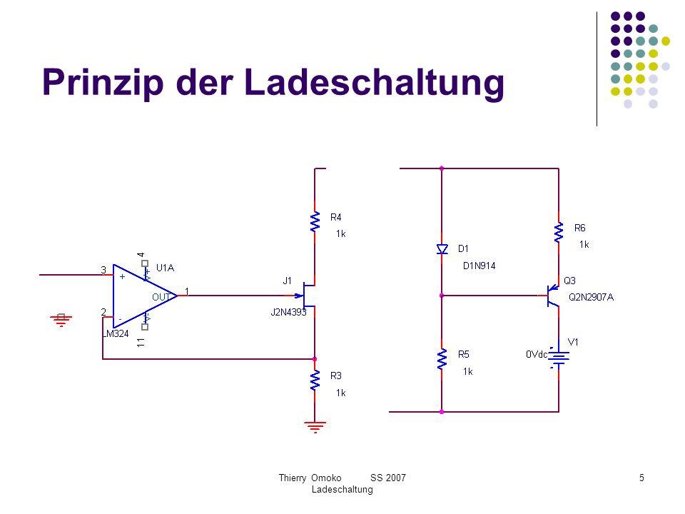 Prinzip der Ladeschaltung
