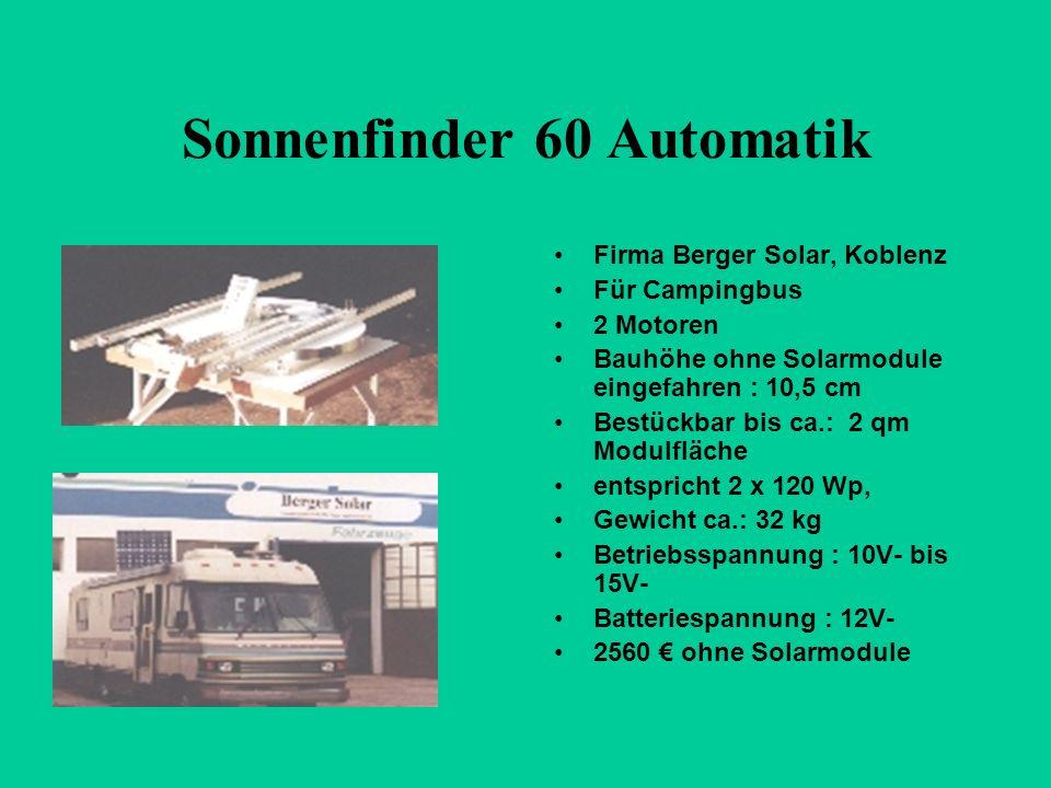 Sonnenfinder 60 Automatik