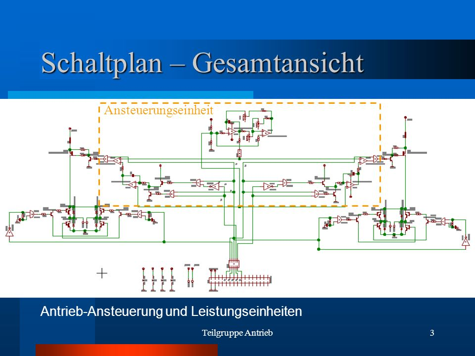 Schaltplan – Gesamtansicht