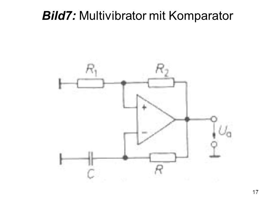 Bild7: Multivibrator mit Komparator