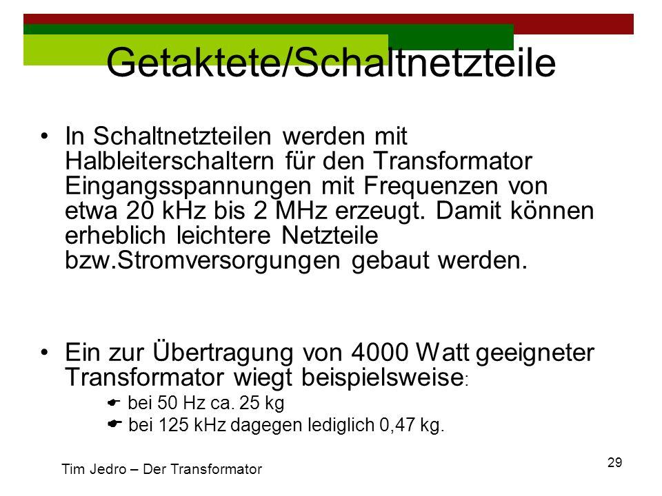 Getaktete/Schaltnetzteile
