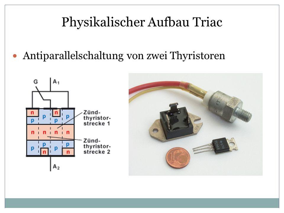 Physikalischer Aufbau Triac