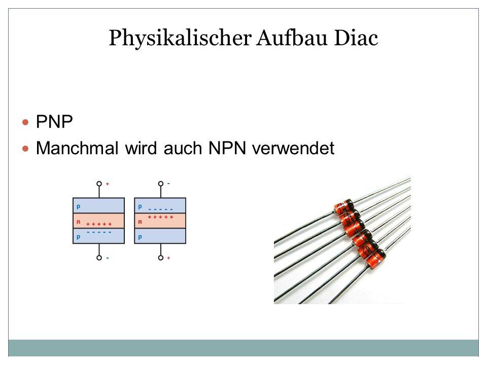 Physikalischer Aufbau Diac