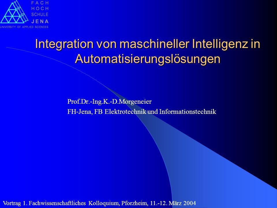 Integration von maschineller Intelligenz in Automatisierungslösungen