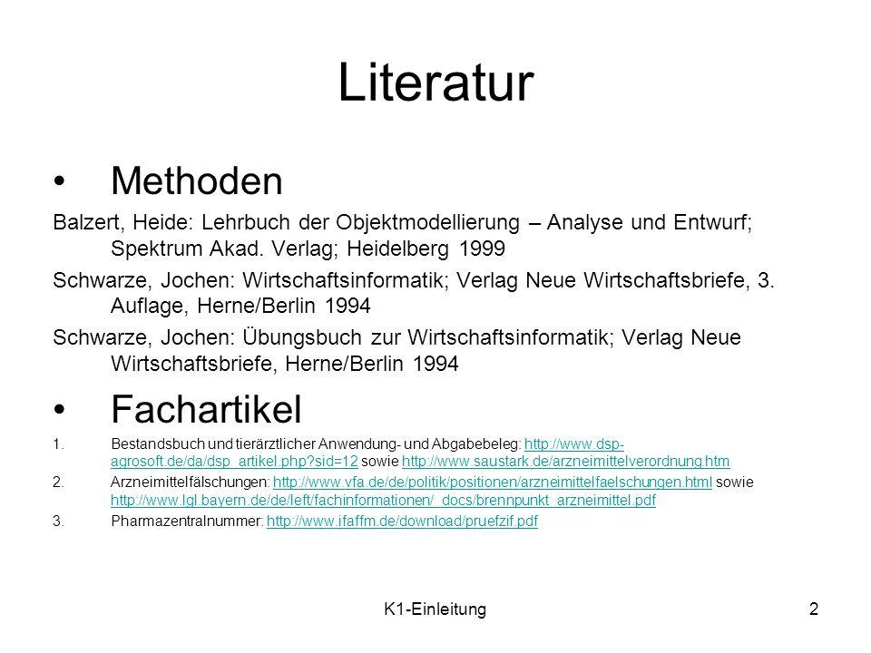 Literatur Methoden Fachartikel