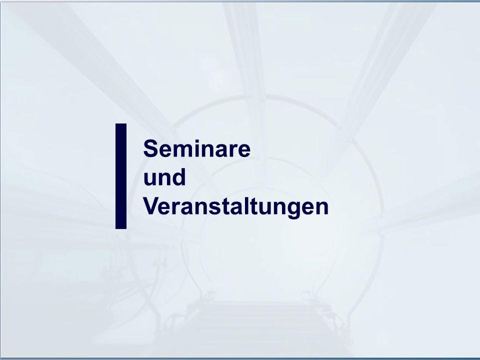 Seminare und Veranstaltungen