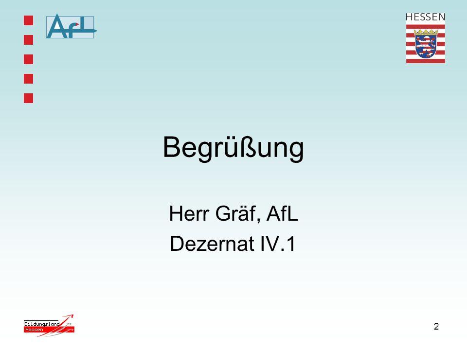 Herr Gräf, AfL Dezernat IV.1