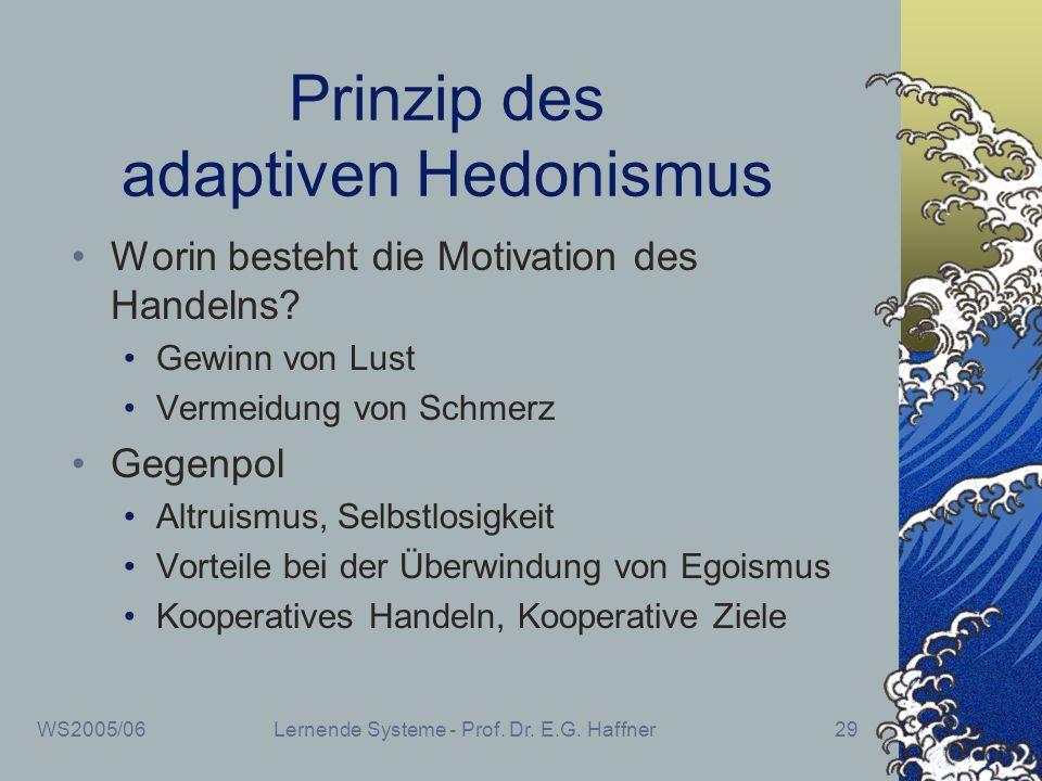 Prinzip des adaptiven Hedonismus