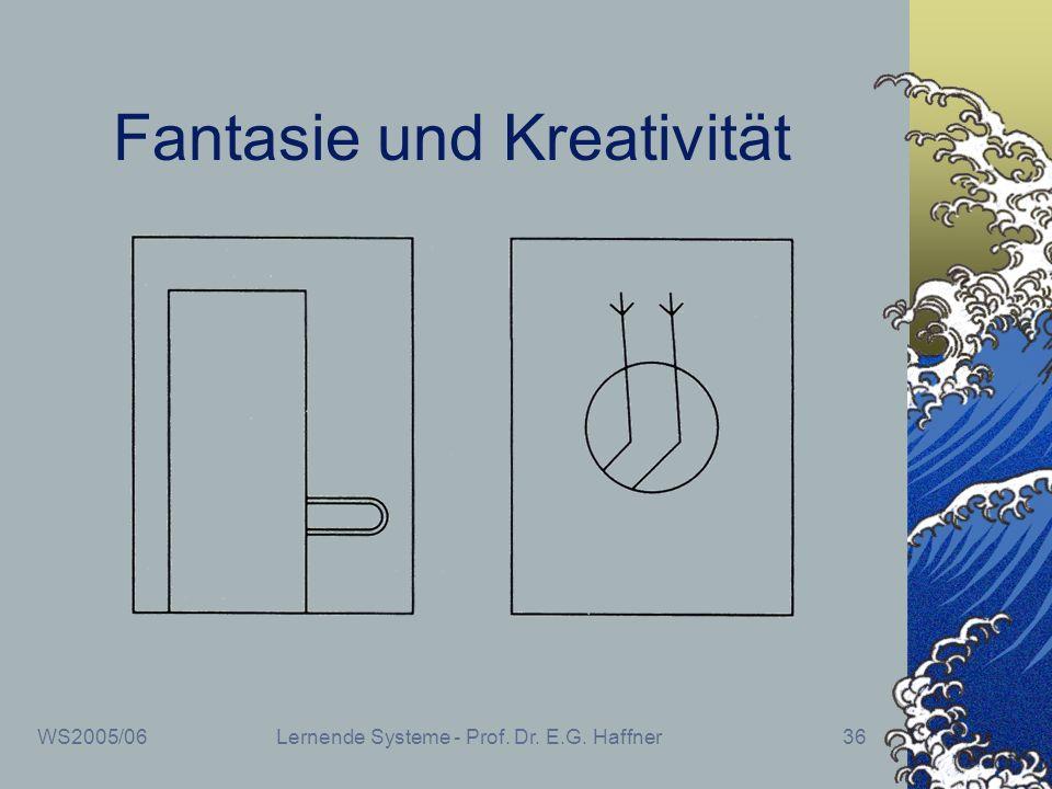 Fantasie und Kreativität