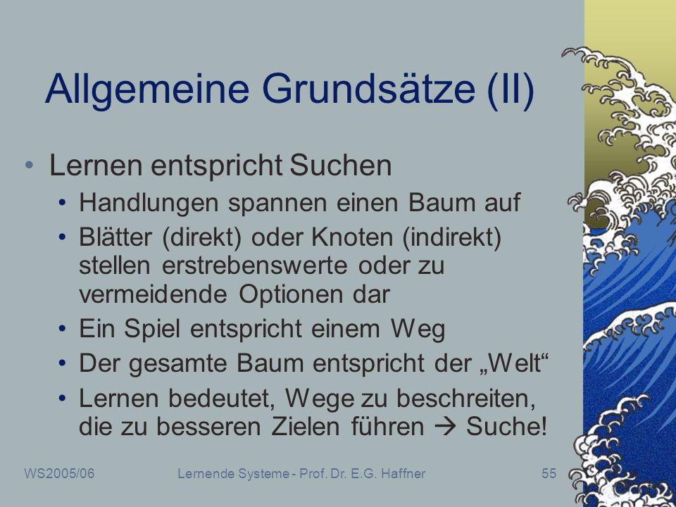 Allgemeine Grundsätze (II)