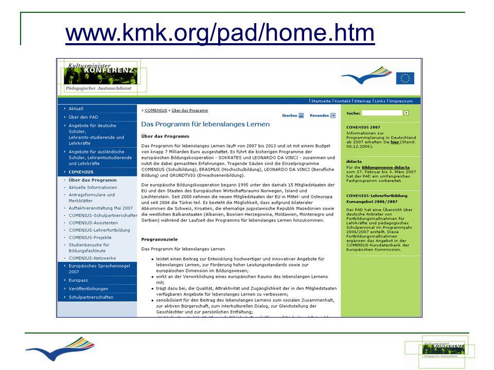 www.kmk.org/pad/home.htm