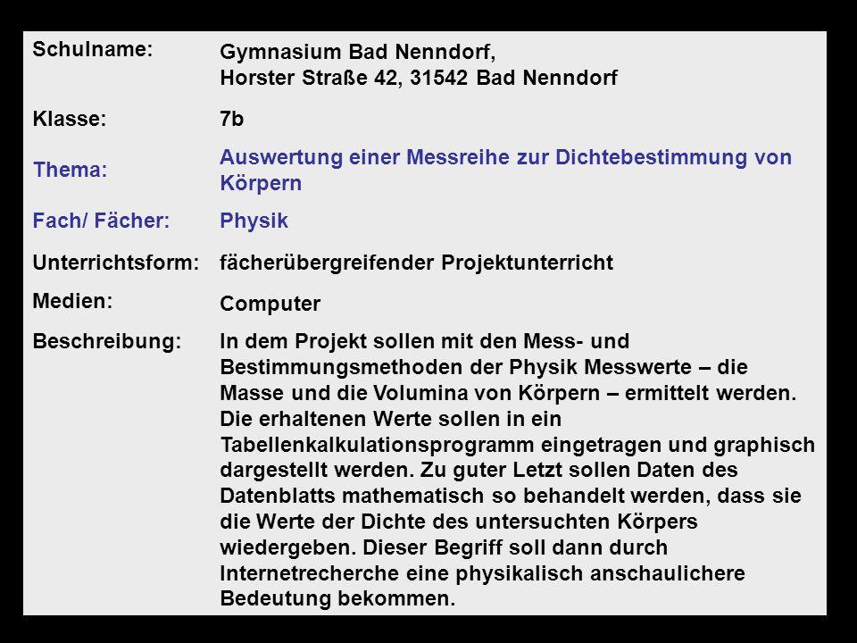 Gymnasium Bad Nenndorf, Horster Straße 42, 31542 Bad Nenndorf