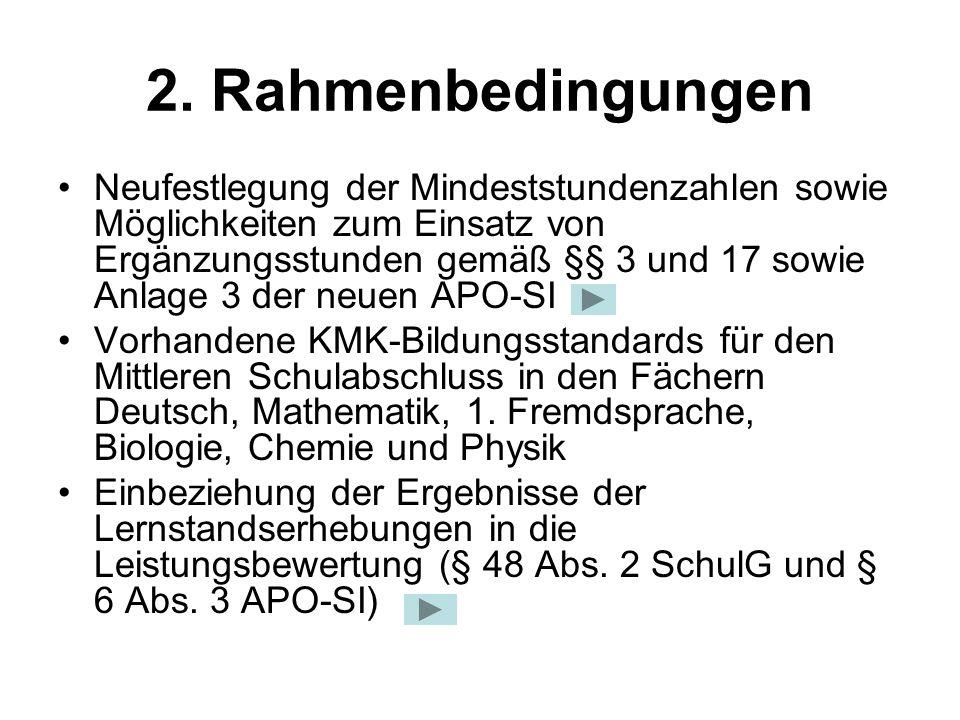 2. Rahmenbedingungen