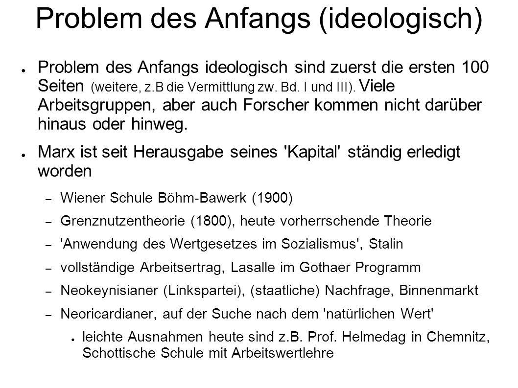 Problem des Anfangs (ideologisch)