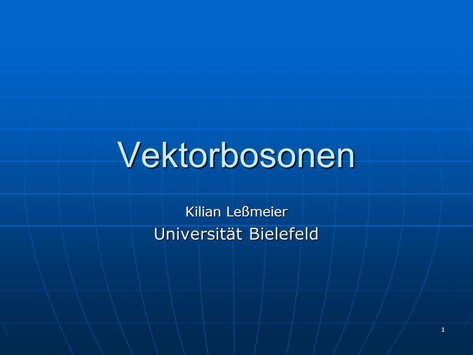 Kilian Leßmeier Universität Bielefeld