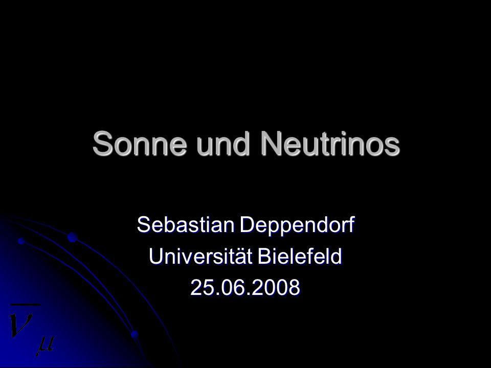 Sebastian Deppendorf Universität Bielefeld 25.06.2008