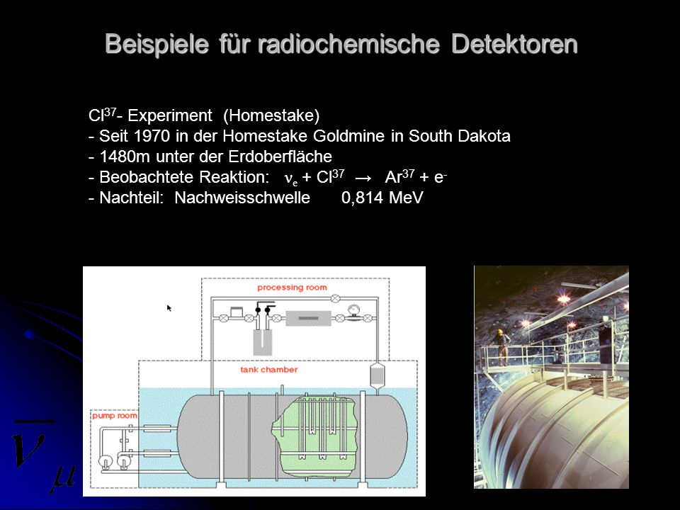 Beispiele für radiochemische Detektoren
