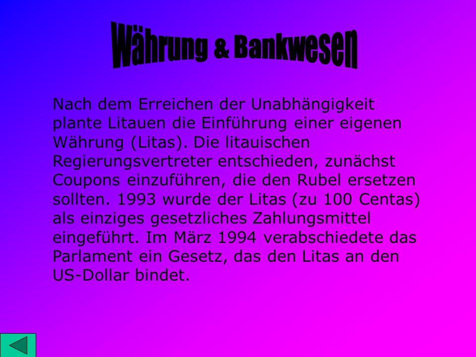 Währung & Bankwesen