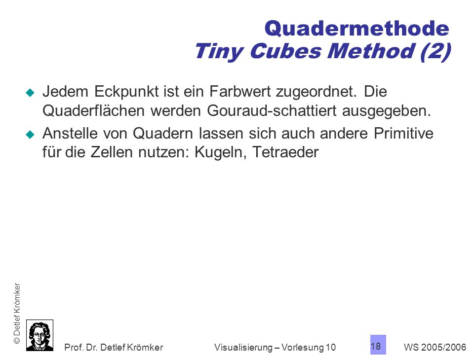 Quadermethode Tiny Cubes Method (2)