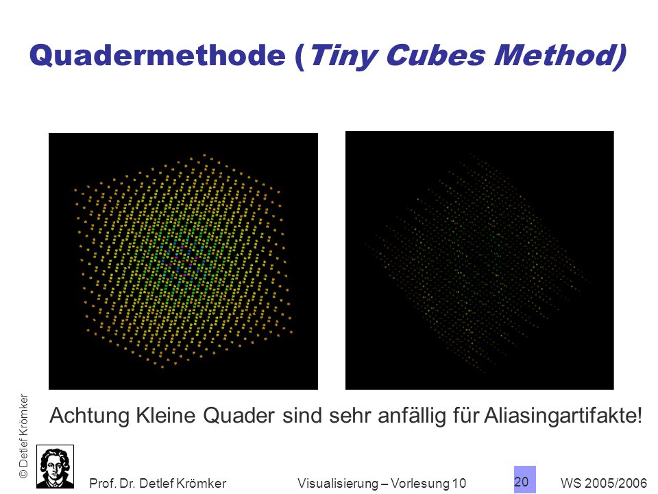 Quadermethode (Tiny Cubes Method)