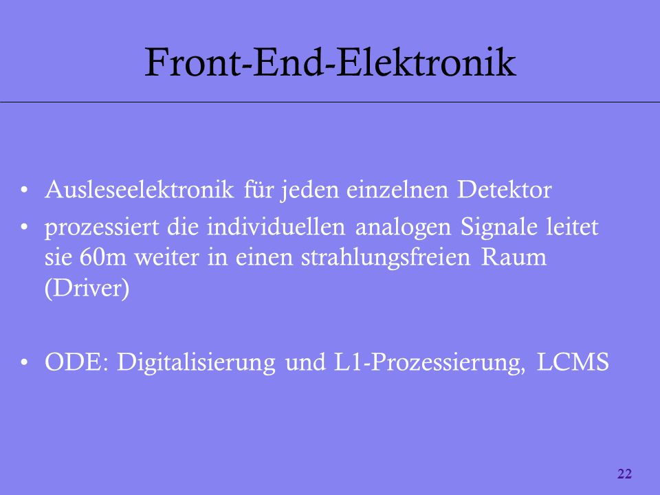Front-End-Elektronik