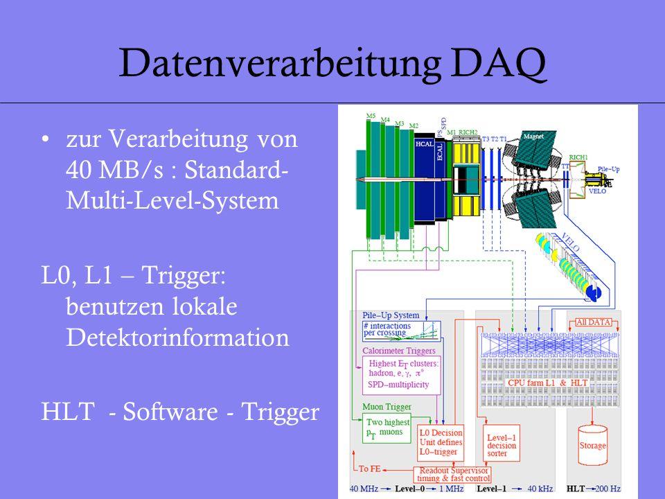 Datenverarbeitung DAQ