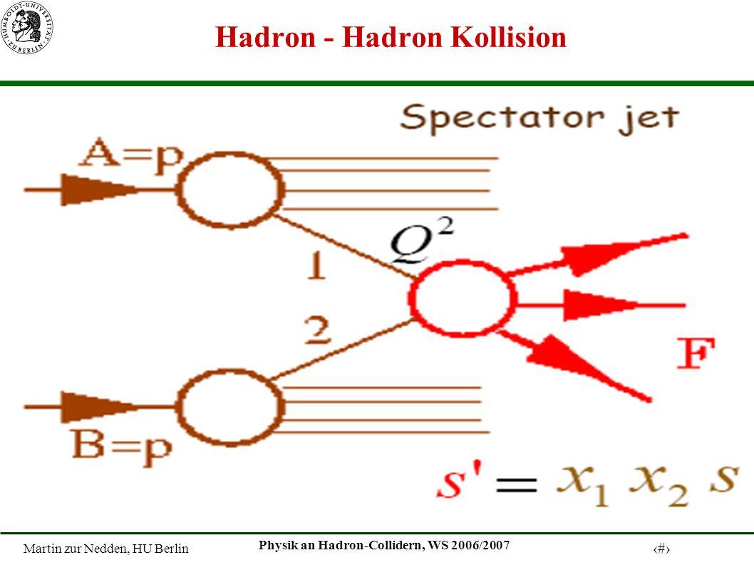 Hadron - Hadron Kollision