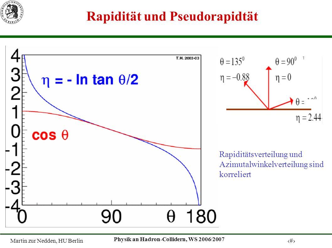 Rapidität und Pseudorapidtät