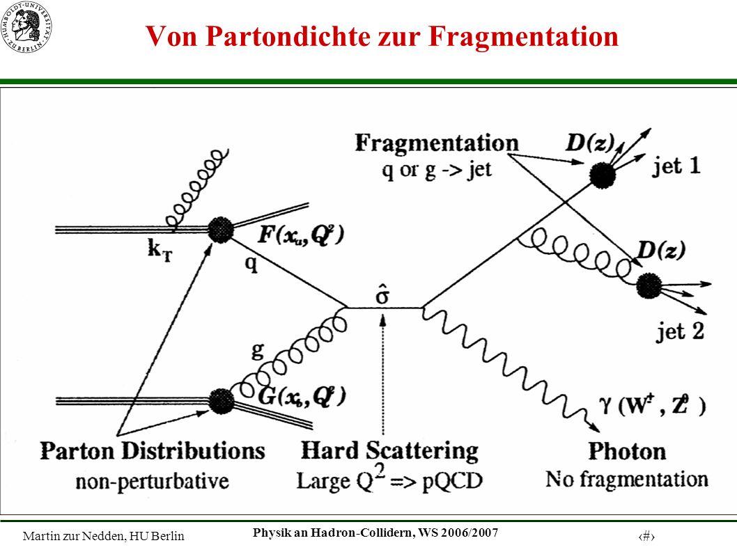 Von Partondichte zur Fragmentation