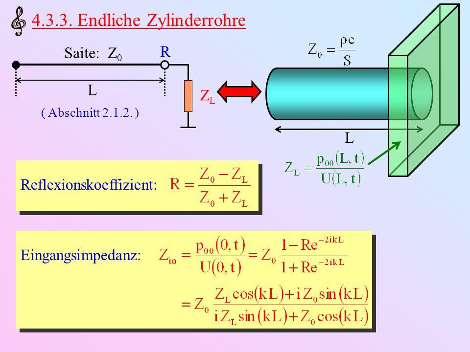 4.3.3. Endliche Zylinderrohre