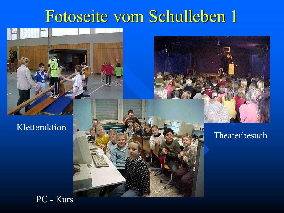Fotoseite vom Schulleben 1