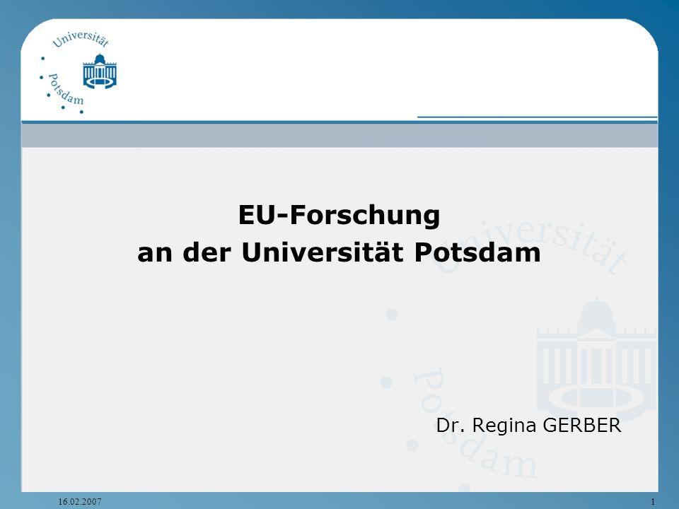 an der Universität Potsdam