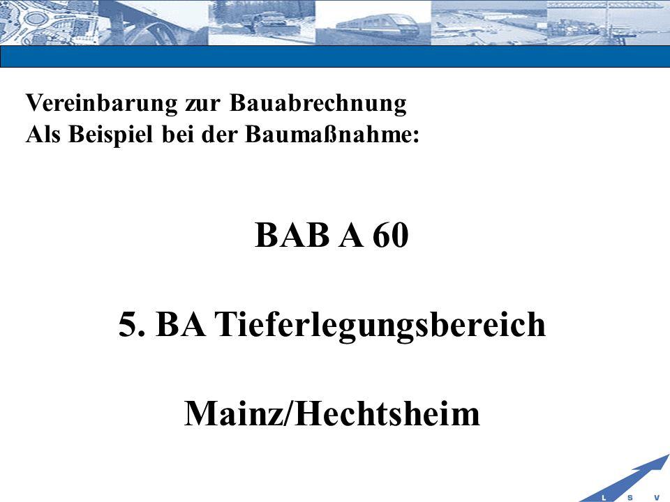 5. BA Tieferlegungsbereich
