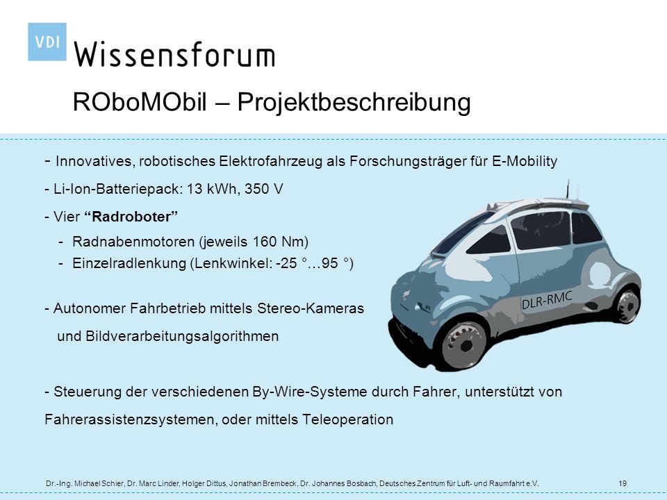 ROboMObil – Projektbeschreibung