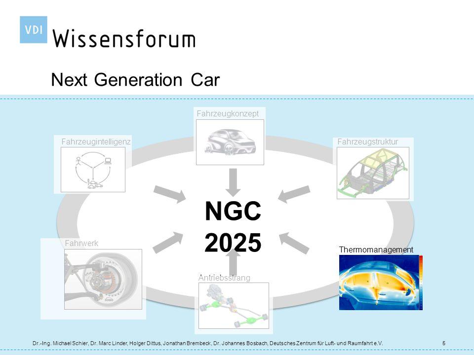 NGC 2025 Next Generation Car Fahrzeugkonzept Fahrzeugstruktur Fahrwerk