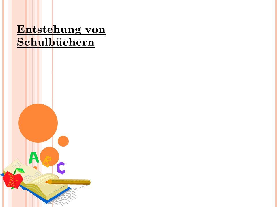 Entstehung von Schulbüchern