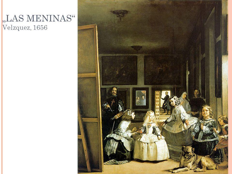 """""""LAS MENINAS Velzquez, 1656"""