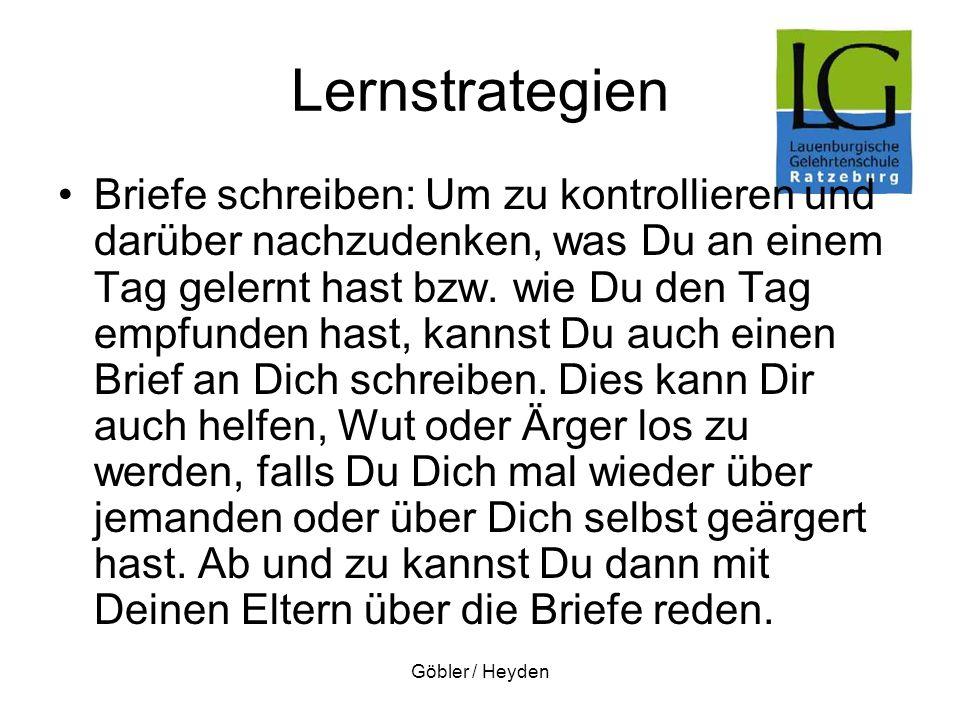 Lernstrategien