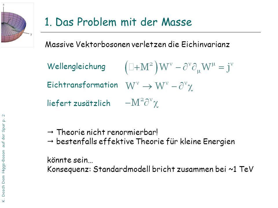 1. Das Problem mit der Masse