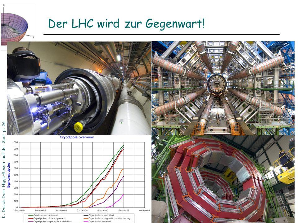 Der LHC wird zur Gegenwart!