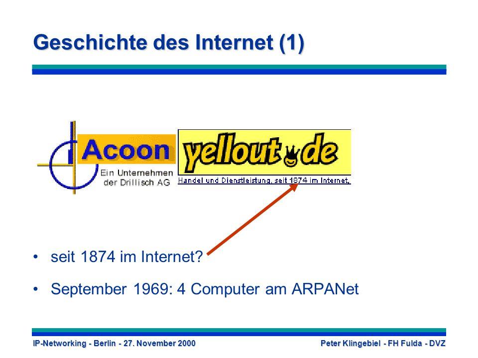Geschichte des Internet (1)
