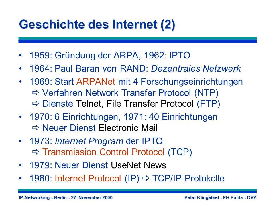 Geschichte des Internet (2)